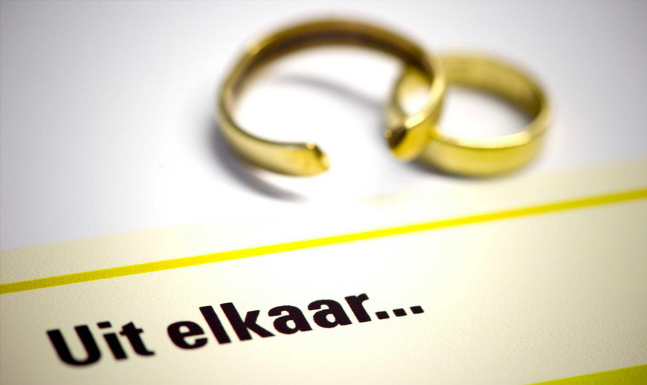 Boete past niet bij het huwelijk